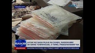 Saksi: Latak ng nasa P6.8-B na shabu, nadiskubre sa isang townhouse; 3 Tsino, pinaghahanap na