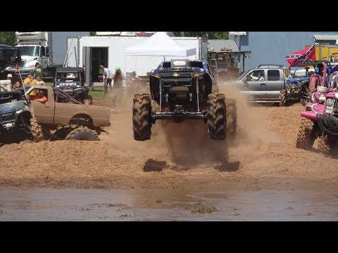 Louisiana Mudfest Trucks Gone Wild Spring 2018 Friday Pit Action Part 1
