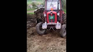 IMT 558 Izvlacenje stajnjaka - Pulling manure with IMT 558