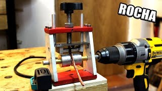 Un ladron de cobre nunca te enseñara esta máquina