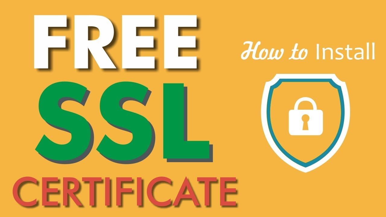 How to Install Free SSL Certificate on Any WordPress Website - Any Hosting Using Let's Encrypt