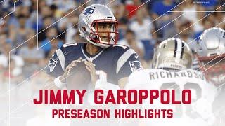 Jimmy Garoppolo Highlights | Saints vs. Patriots | NFL