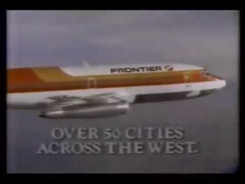 1985 Frontier Airlines commercial