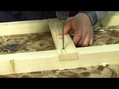 Как сделать стеллаж из досок своими руками