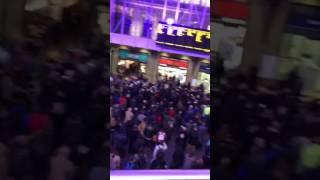 Storm Doris Leaves Commuters Stranded at Kings Cross