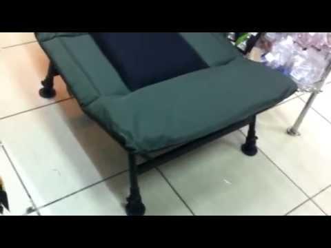 Карповые раскладушки FOX R-series Camo (русская озвучка) - YouTube