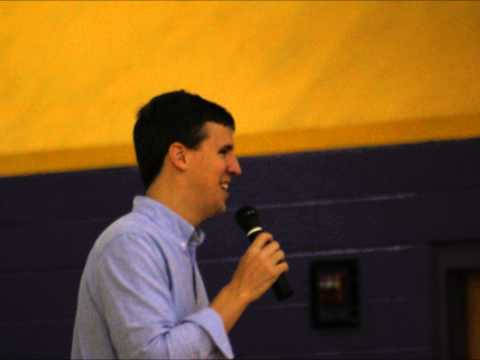Jeff Kinney Visits Bowling Green Junior High School
