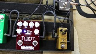 wampler thirty something compared to vox ac30 and ac15