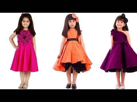 Buy Online Dress - Modern New Arrivals Fashionable kid girls frock dress design