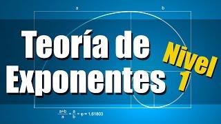 Teoría de Exponentes - Ejercicios Resueltos - Nivel 1