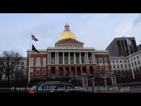 Boston Common Park and State House - Attractions of Boston