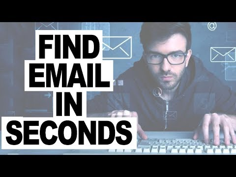 Find Anyone's Email Address Within Seconds