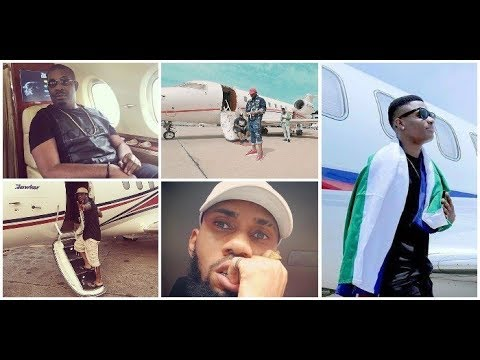 Top 8 Nigerian musicians who owns one or even more private jets.