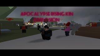 Roblox Apocalypse Rising Kin Explosion!