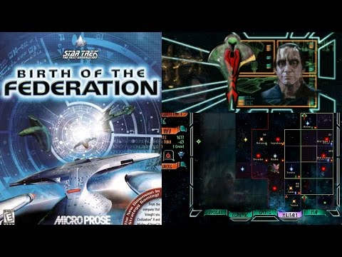 Cardassians Let's Play Star Trek Birth of the Federation - Part 1