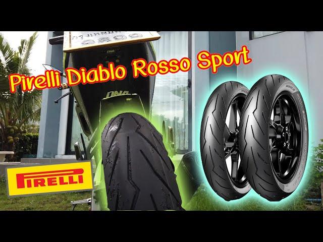 รีวิวยาง Pirelli Diablo Rosso Sport โคตรหนึบใส่กับ MSlaz