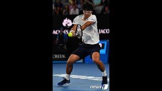 <テニス>チョン・ヒョン、ジョコビッチを撃破=韓国選手初のメジャー大会8強進出 (1/23)