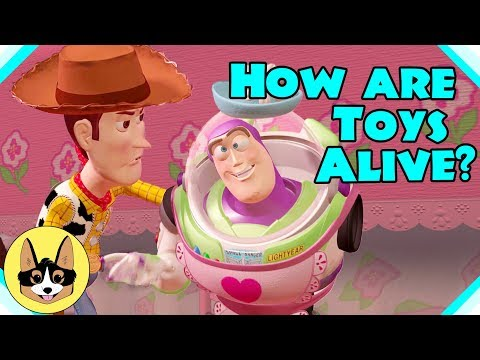 How do the Toys Come to Life in Toy Story?  |  Disney Pixar Toy Story 4 Analysis