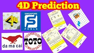 Singapore Pools 4d prediction 10/02/2018