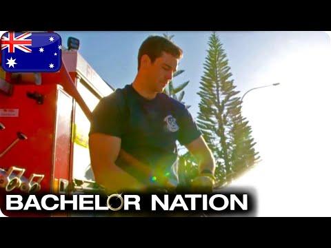 Firefighter Cameron Meets The Bachelorette | The Bachelorette Australia