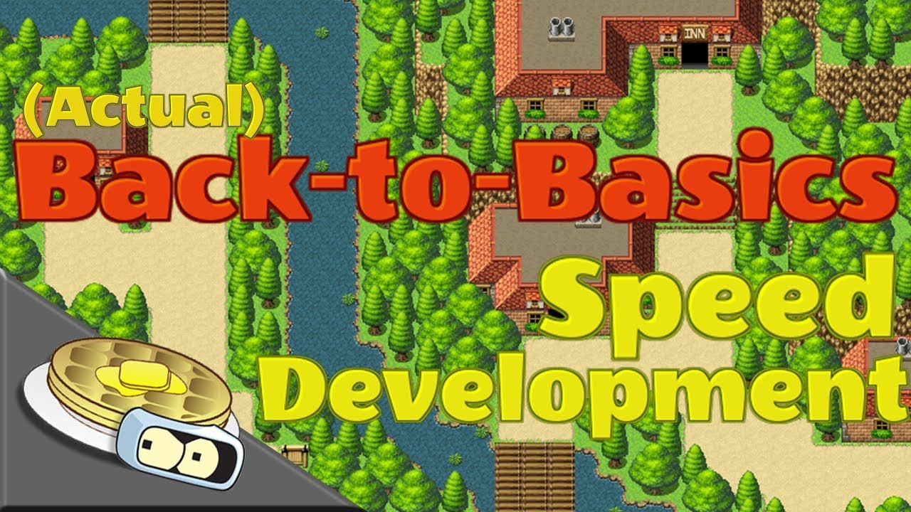 (ACTUAL) Back-to-Basics Map Speed Development | RPG Maker MV MAP CREATION  TUTORIAL