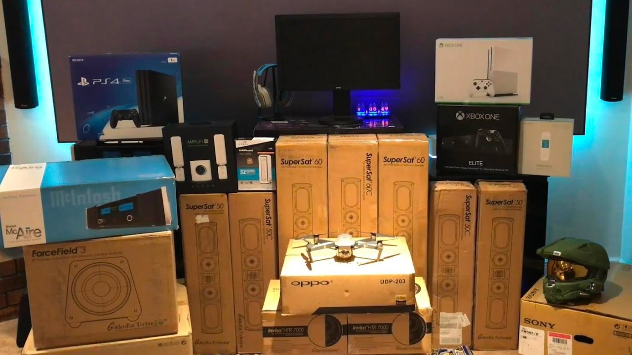 Ultimate 4k Theater Gaming Setup Hdr And Dolby Atmos With