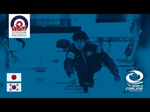 Japan v Korea - Men's Semi-final - Pacific-Asia Curling Championships 2017