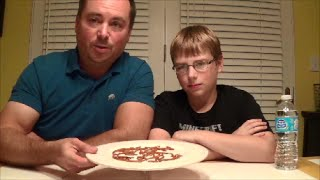 12-yr-old eats Worm Larvae!! : Bizarre Food Review, Crude Brothers