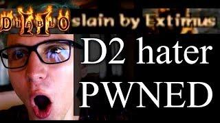 Hater tries to PK Xtimus - Diablo 2