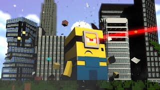 Minecraft : OS MINIONS GIGANTES !! - (Vida de Herói #1)
