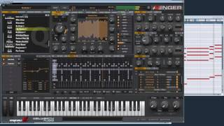 Vengeance Producer Suite - Avenger - Quick Preset Demonstration: SQ Nu Electro 1
