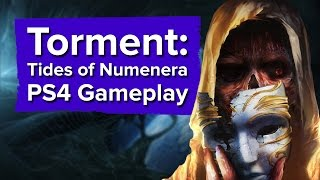 9 minutes of Torment: Tides of Numenera PS4 Gameplay