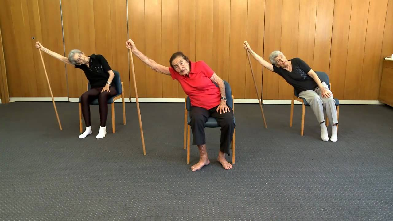 Chair yoga elderly - Chair Yoga Elderly 58