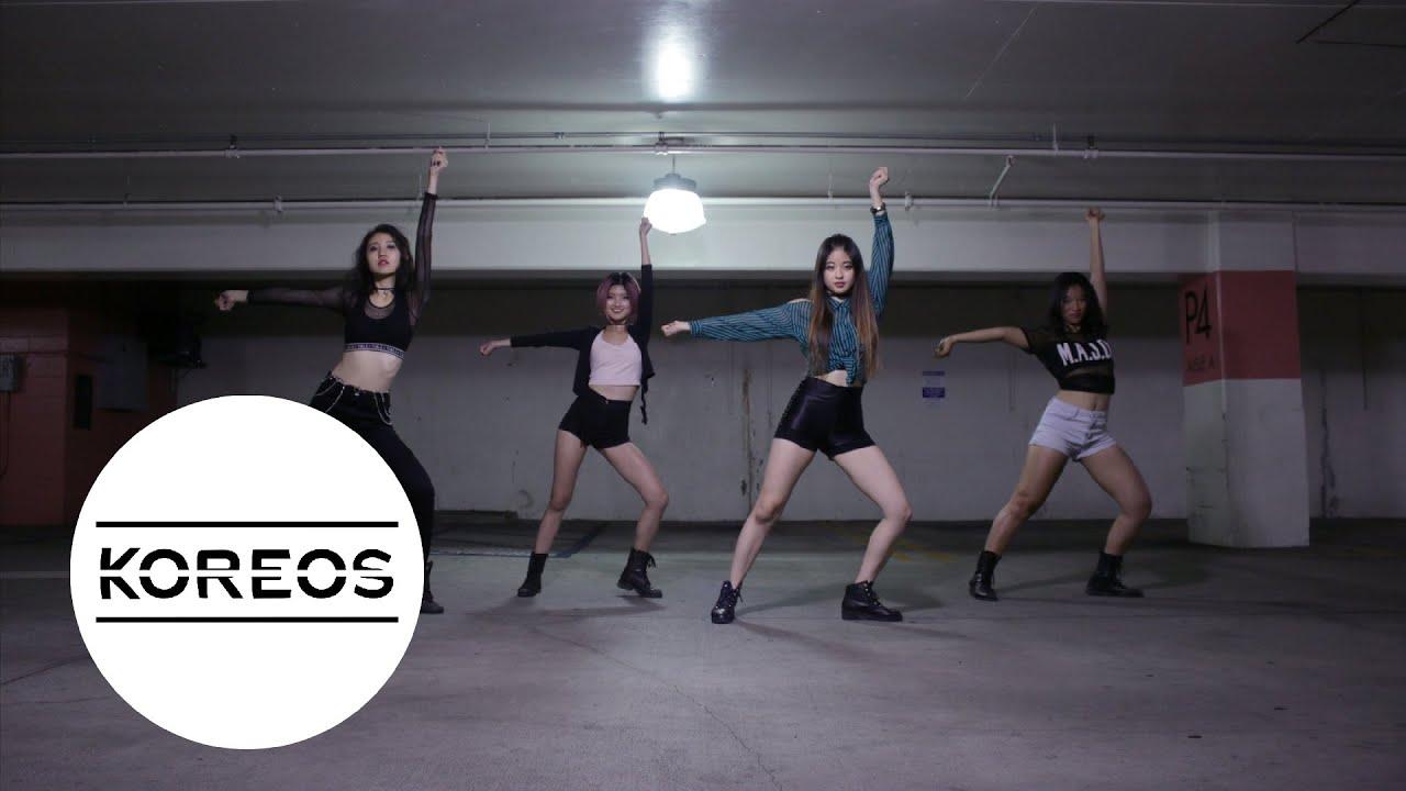 koreos blackpink boombayah dance cover youtube