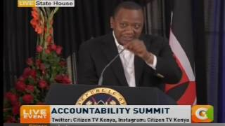 "Uhuru finally speaks on Sonko's ""acting President"" remark Citizen T..."