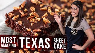 How to Make The Most Amazing Texas Sheet Cake