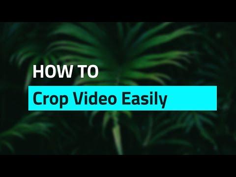 Tutorial: How to Crop Videos Easily - No Watermark
