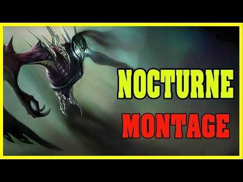 NOCTURNE Montage #1 - GOD LEVEL Nocturne PLAYS 2018 | LEAGUE OF LEGENDS