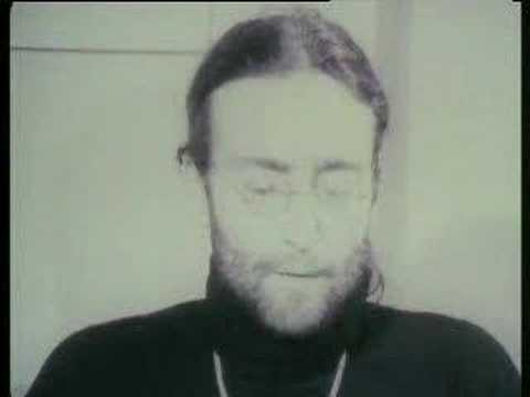 John Lennon - Returning his MBE