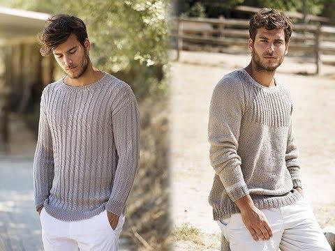 Мужские Пуловеры, Связанные Спицами - 2019 / Men's Pullovers Knitted
