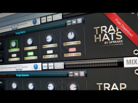 [Free Download] Reason Trap Drum Roll Combinator patches