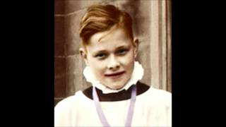 Master Vernon Carter (boy soprano) sings Turn Thy Face From My Sins, 1961 with noise reduction