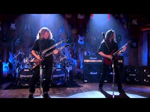 "Megadeth ""Trust"" Guitar Center Sessions on DIRECTV"