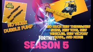 FORTNITE SEASON 5| NEW TOYS, SKINS, EMOTES, VICTORY ROYAL, AND MORE #SoaROverPowered @SoaRGaming