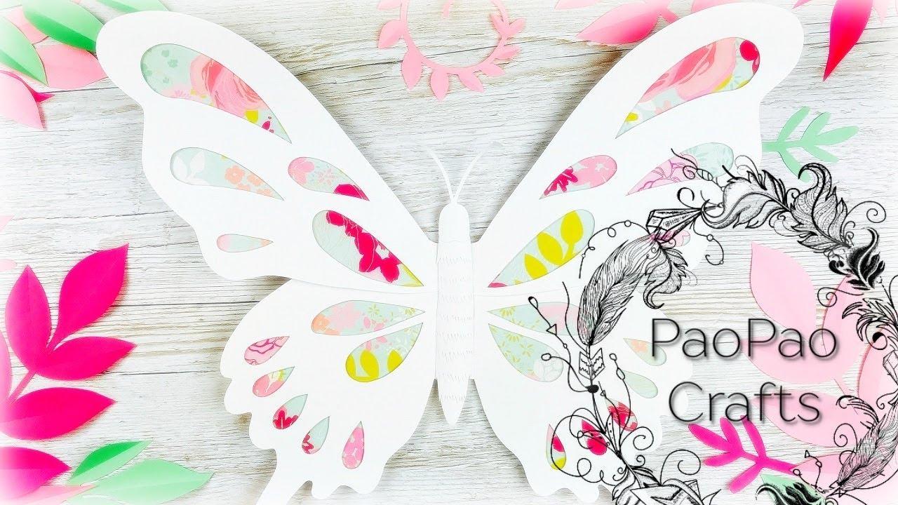 Decorar Tarta Mariposa