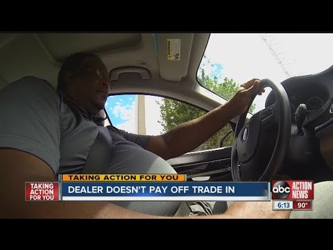 Trading in your car comes with risks