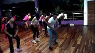 "GO SHAPO workout on ""Danca Tago Mago""  by Kaoma"