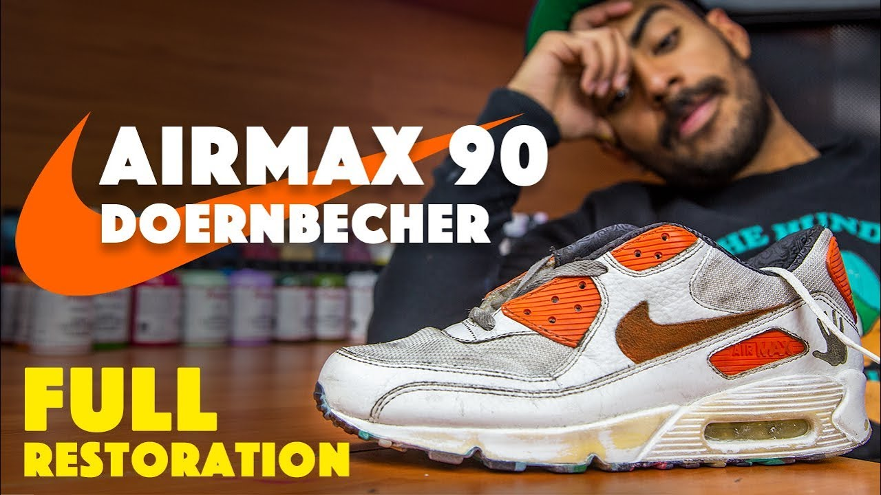 Nike Air Max 90 Doernbecher restoration by Vick Almighty!