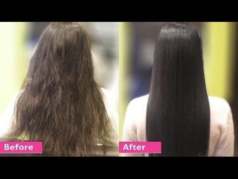 Permanent Hair Straightening At Home With All Natural Ings Silk Shine
