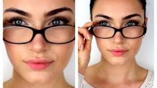Makeup for Glasses | RubyGolani
